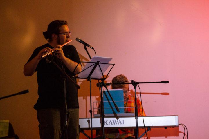 Вечарына контр-джазу і паэзіі прайшла на «Коле»
