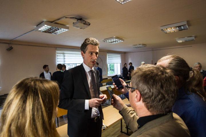 Амбасадар Францыі наведаў «Кола»