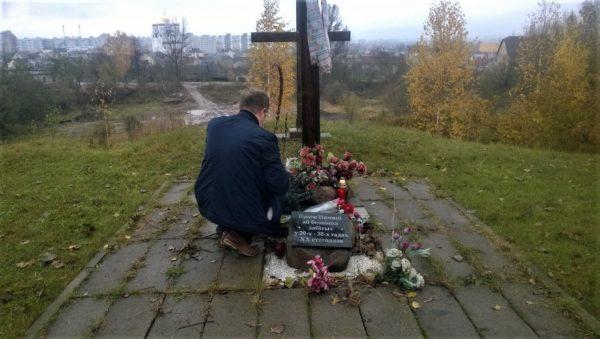 Акция памяти жертв политических репрессий прошла в Могилеве
