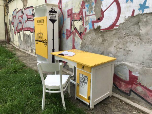 Общественный книжный шкаф появился в Могилеве