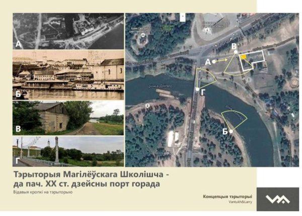 Прэзентацыя напрацовак архітэктурнай секцыі Таварыства па магілёўскаму Школішчу