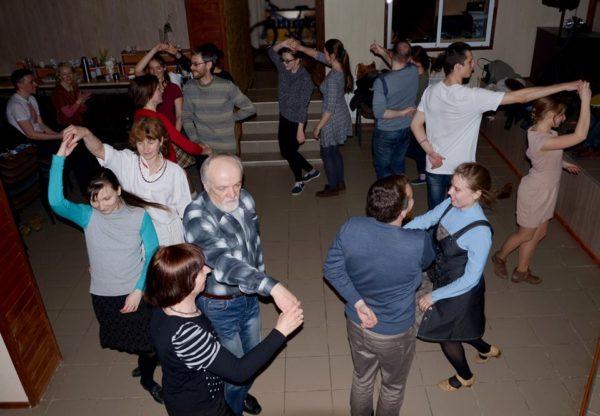Танцы на «Коле» прымалі гасцей