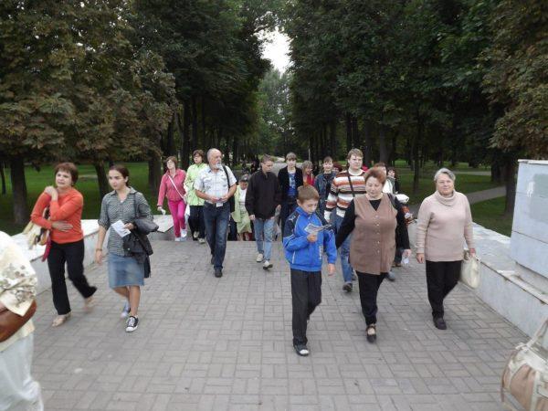Пешаходная экскурсія па Магілеве 22 красавіка