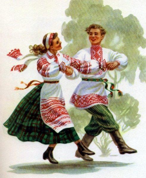 Танцавальная вечарына на Коле 18 ліпеня