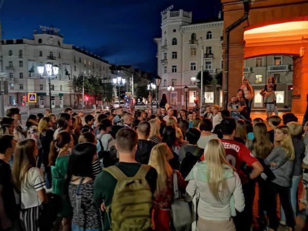Главная фишка этого сезона в Могилеве — ночные экскурсии