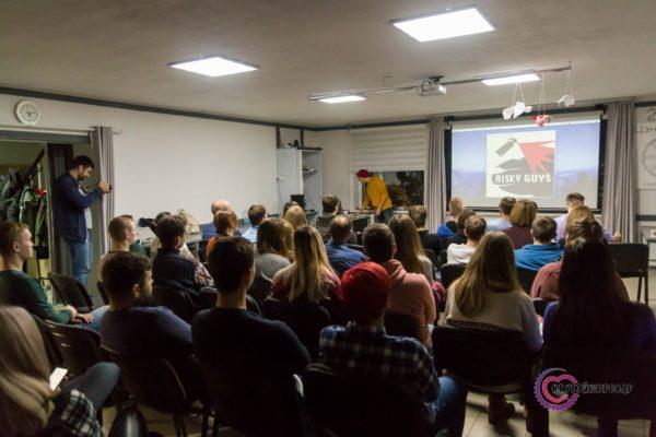 Фильм «Вокруг Беларуси на велосипедах…» показали на «Коле»