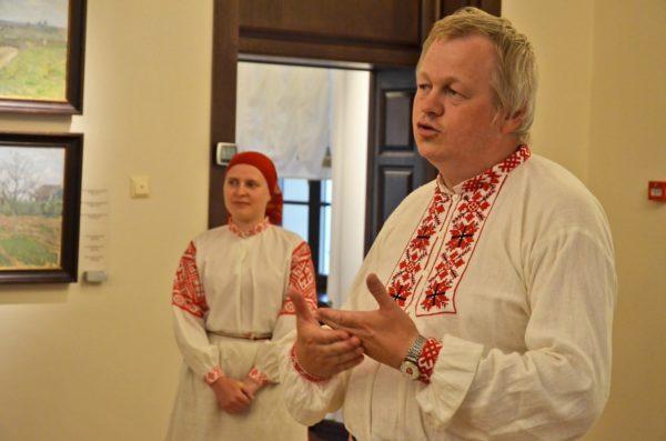 Вечарына іркуцкіх беларусаў