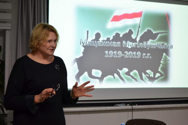 Ніна Стужынская на Коле
